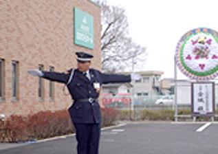 TPOに合った葬儀駐車場警備